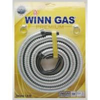 Selang Gas Win Gas/ Selang Metal Spiral Stenlis Elpiji