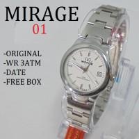 harga Original Jam Tangan Pria Wanita Mirage 01 (Swiss Army Guess Rolex) Tokopedia.com