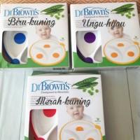 harga Dr Brown Divided Plate (Piring Makan Anti Selip) - Isi 2 Tokopedia.com