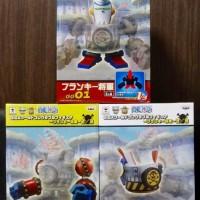 One Piece Giga WCF Franky Shogun + WCF Franky sugoi Original
