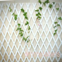 Jual pagar taman rambat plastik shabby chic type 7 / pagar tempel tanaman Murah