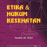 harga Etika & Hukum Kesehatan Murah Tokopedia.com