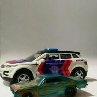 diecast range rover evoque custom patwal (polisi indonesia)