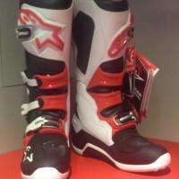 sepatu cross Alpinestars tech 7 warna putih merah murah jakarta