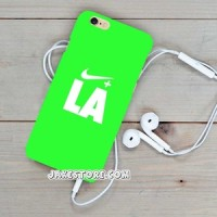 Nike LA green iPhone Hard Case 4 4s 5 5s 5c 6 6s Plus