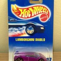 Hot Wheels Lamborghini Diablo Purple Collector Rare Wheels 1991