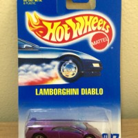 Hot Wheels Lamborghini Diablo Pearl Purple Metallic 1991