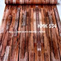 WALLPAPER KAYU KMK 534 (L 45CM X Panjang 5M)