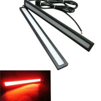 harga Lampu DRL daytime running light Led Cob Plasma 17cm Merah Red (61936) Tokopedia.com