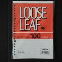 Loose Leaf ( Kertas File) A5 Joyko 100 Lembar atk
