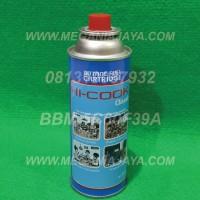 harga Gas Kaleng Hi Cook Portable | Multi Torch/Kompor | Kaleng Biru Tokopedia.com