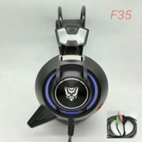 Gaming Headset Rexus F35 Vibration + Led