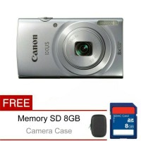 Kamera Canon ixus 175 Silver Terbaru Murah Bagus Berkualitas Terbaik
