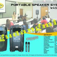 harga Portable Wireless Meeting Krezt Was 112b ( 12inch ) Bluetooth Tokopedia.com