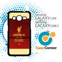 harga Liverpool Fc Red  Case, Cover, Hardcase Samsung Galaxy Core Tokopedia.com