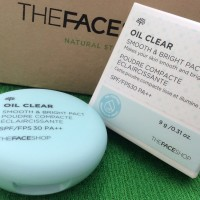Jual [THE FACE SHOP] Oil Clear Smooth Bright Pact SPF30 PA++ Murah