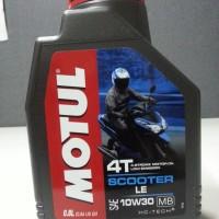 MOTUL SCOOTER LE - OLI MOTOR MATIC - 0.8L - 10W30