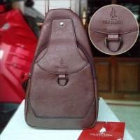 Tas Selempang Shoulder Bag Polo Classic SB89805 Coffee Original
