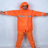 Jual Jaket Jas Hujan Raincoat Axio Europe 882 Orange Stabilo Warna Langka Murah