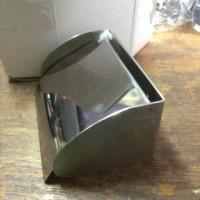 tempat tisue / dispenser tissue stainless steel