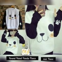 Sweater Wanita Round Hand Panda