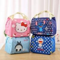 Jual Cooler Bag/ Tas Panas/ Dingin ,Tas Asi Hellokitty ,Doraemon ,Stitch Murah