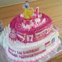 Kue Ulang Tahun Tart 2 Tingkat