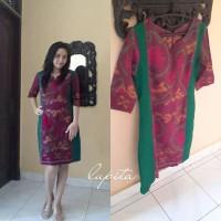 dress endek kombi by Lupita EKL01