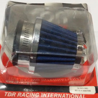 SARINGAN UDARA/AIR FILTER TDR 24mm DAN 28mm PANJANG BLUE
