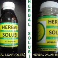 paket obat herbal vitiligo (vitiligo oil + herbal dalam)