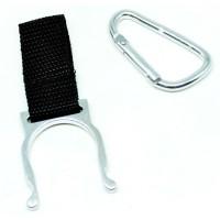 Pengait Botol Minum / Holder Bottle Buckle Keychain - Silver B194