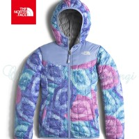 The North Face Girls' Reversible Thermoball Hoodie Jacket