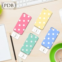 Case Casing Polkadot Hp Handphone Iphone Samsung Oppo LG Sony Vivo A67