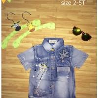 harga Dc-194 Kemeja Jeans Tokopedia.com