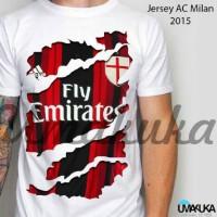 harga Jersey AC Milan Home Dragon Ripp - Kaos 3D Umakuka Original Tokopedia.com