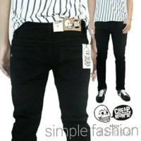 Celana Jeans CHEAPMONDAY Skinny Full Black