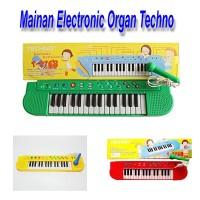 MAINAN PIANO ORGAN ELECTRONIC TECHNO 26 LAGU ANAK INDONESIA