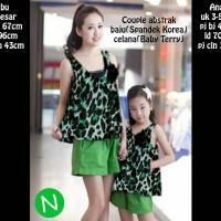 harga promo couple mom and kids / grosir baju murah berkualitas Tokopedia.com