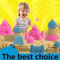 Pasir Kinetic Ajaib Magic Play Sand Mainan Edukasi Anak (500 gr)