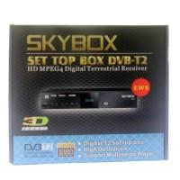 Set Top Box DVB T2 SKYBOX TV Digital Indonesia, tanpa Biaya Bulanan