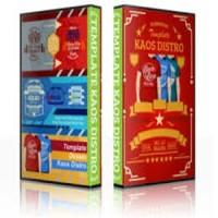 Paket DVD Design Kumpulan Koleksi Desain KAOS DISTRO T-SHIRT