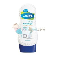 Cetaphil Baby Wash & Shampoo Size 230ml