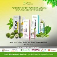 Penghitam Rambut Uban Alami ( Shampo + Serum + Tonic Variant Grey)