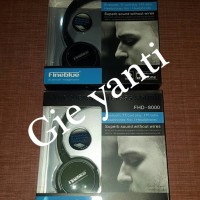 Headset Bluetooth Fineblue FHD-8000 (4 in 1) Natural SoundHeadset Blue