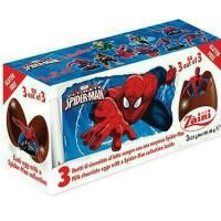 Zaini Egg Chocolate Spiderman Surprise Gift Cokelat Coklat