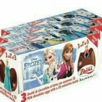 Zaini Egg Chocolate 'Frozen' Surprise Gift Cokelat Coklat