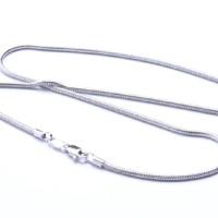 harga Rantai Kalung Belut 60 cm Lapis Emas Putih 18 Karat Tokopedia.com