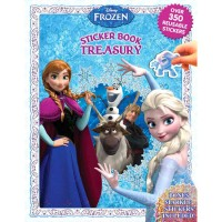 Sticker Book Treasury DISNEY FROZEN with Over 350 Reusable Sticker