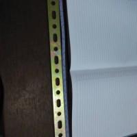 Plat Bracket Breket Panel Bolong Lobang Besi