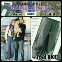 Jual Celana jogger pants model alisa/skirt balon cewe/wanita murmer Murah